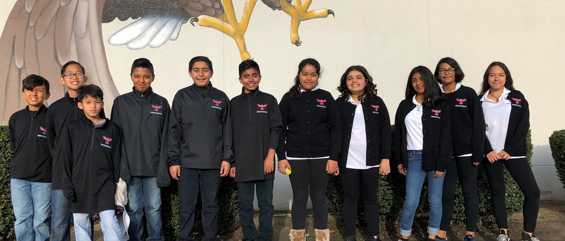 2017-18 Heritage Orange County Academic Pentathlon Team!