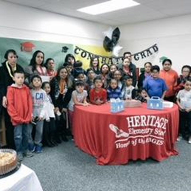 Heritage hosts many events to celebrate student success!
