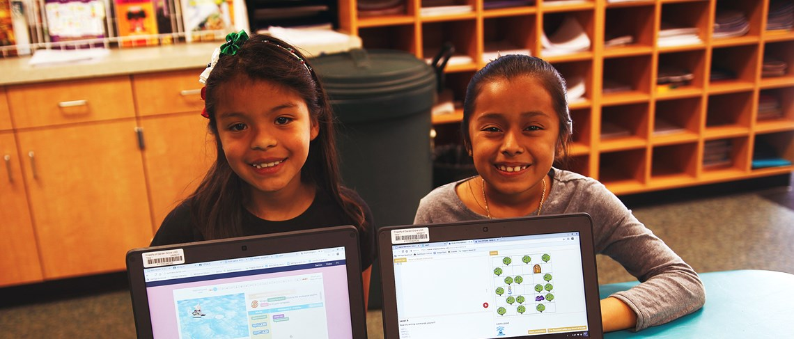 As the district's first Computer Science Academy, students learn new technology skills every day!
